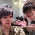 お客様Photo  タレントの濱野和起さんがご来店(^ ^)