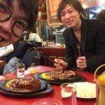 錦糸町に行ったら食べるべき!特大ステーキ|文京区【蝶ネクタイ美容師】