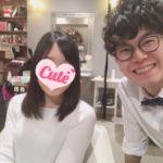 来店動機はブログ!!お茶大新入生のOさんの髪!|文京区【蝶ネクタイ美容師】